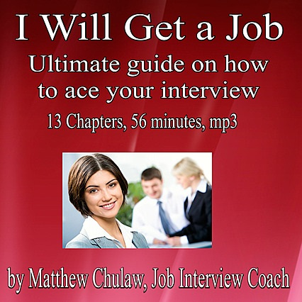 Cover Of I Will Get A Job, An Audio Recording You Will Get For Free