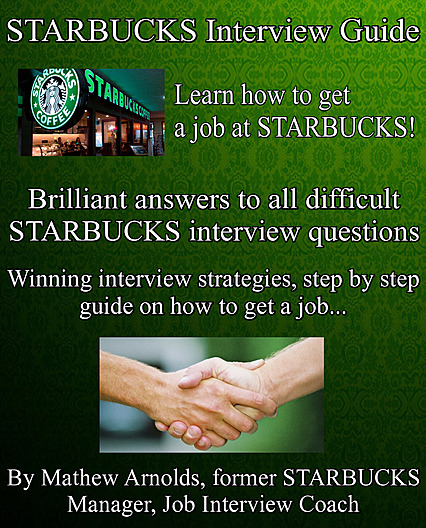 cover of starbucks interview guide 2018 edition